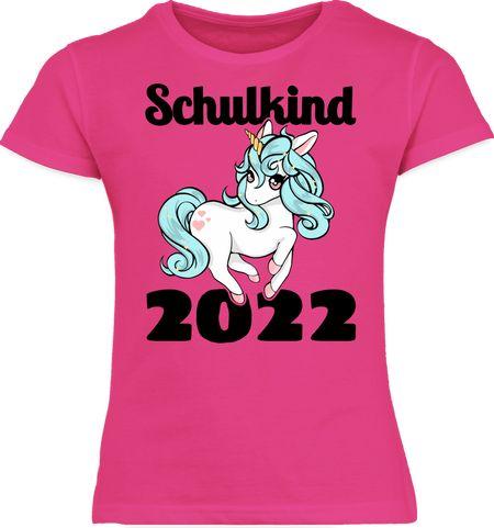 Schulanfang Mädchen Kinder T-Shirt