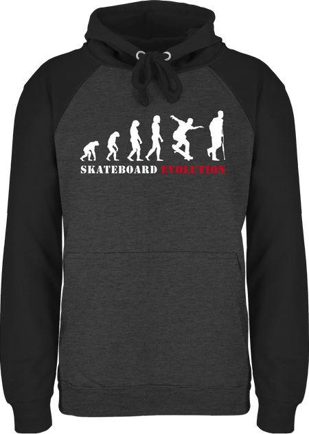 Unisex Baseball Hoodie für Damen und Herren