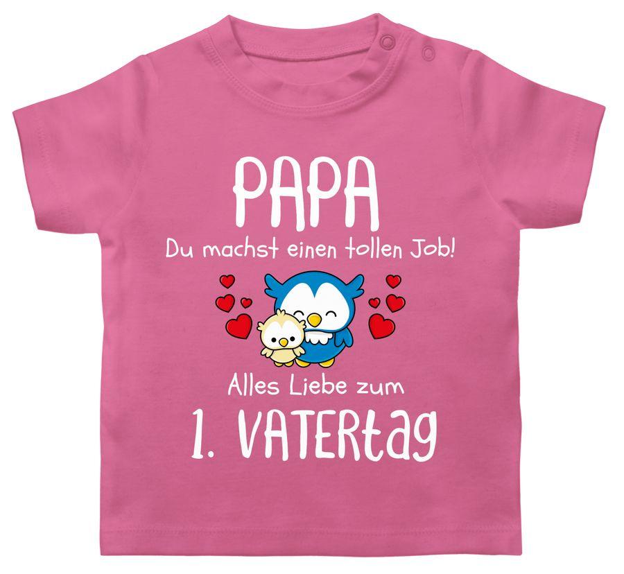 Papa du machst einen tollen Job alles Liebe zum 1. Vatertag weiß