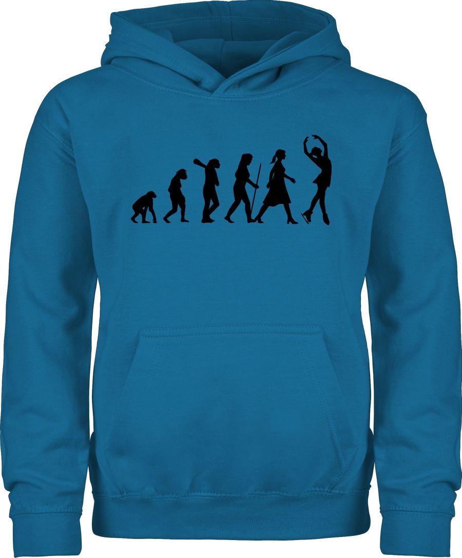 Eisläuferin Evolution