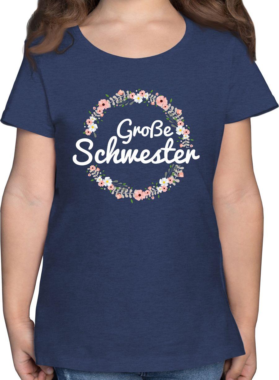 Große Schwester Blumenkranz