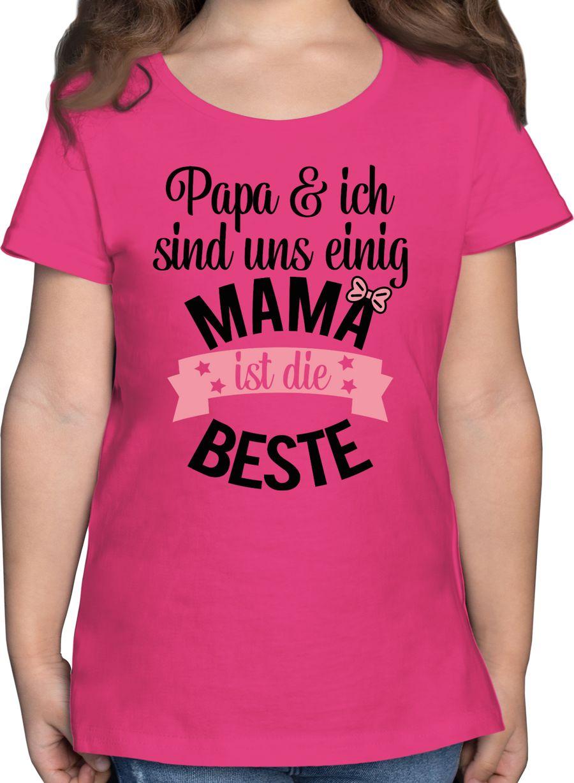 Mama ist die beste - rosa schwarz