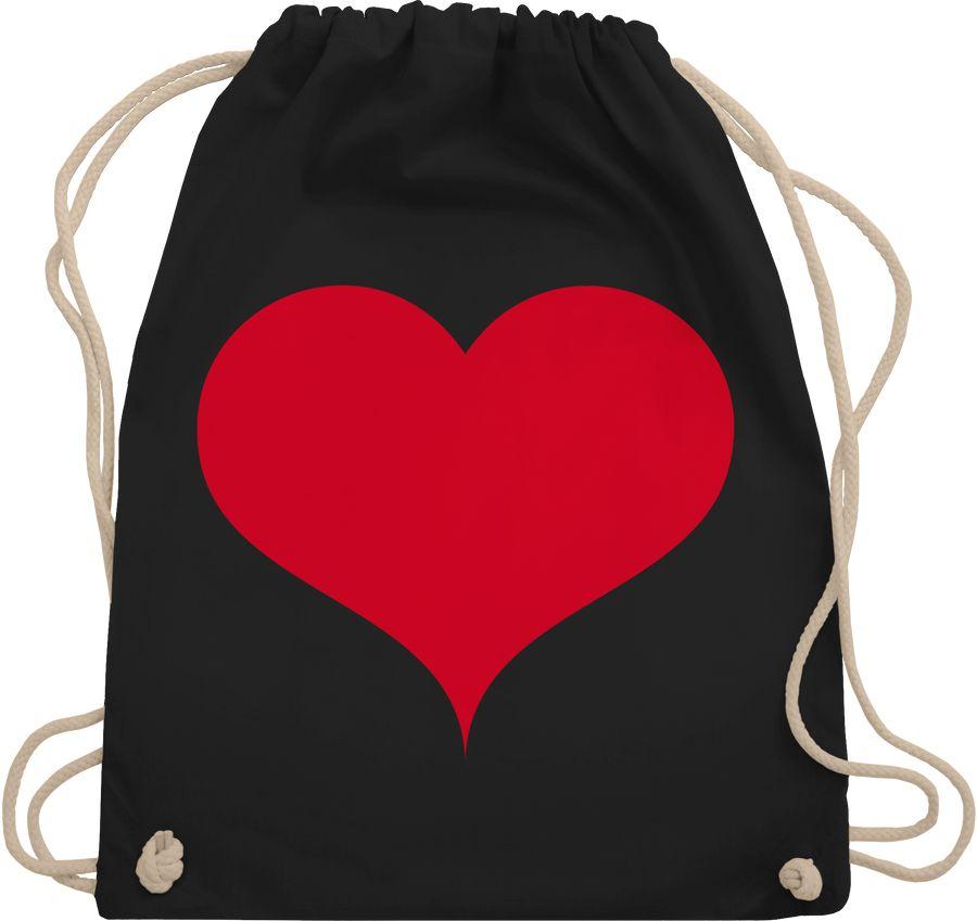 Herz klassisch rot