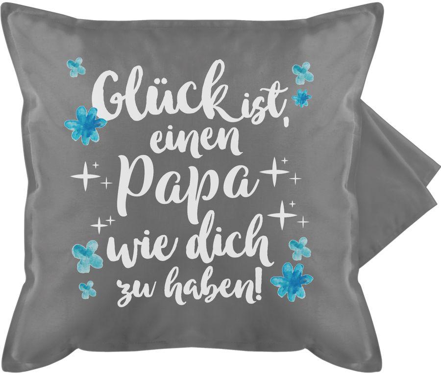 Glück ist, einen Papa wie dich zu haben! - weiß