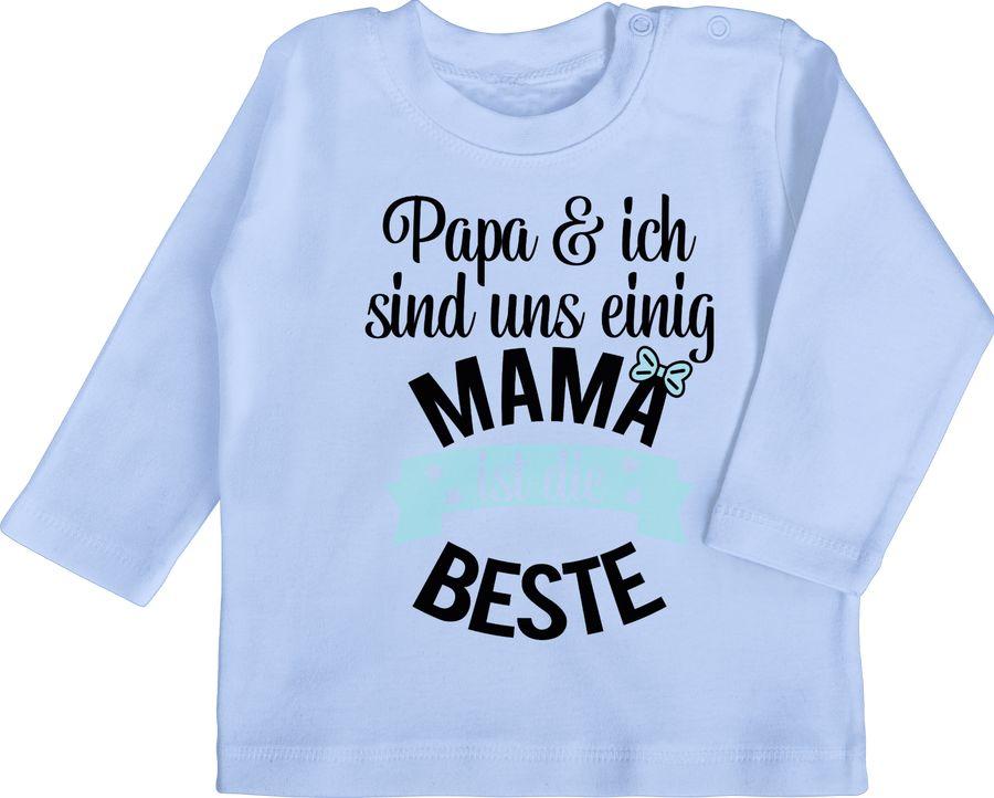 Mama ist die beste - blau schwarz