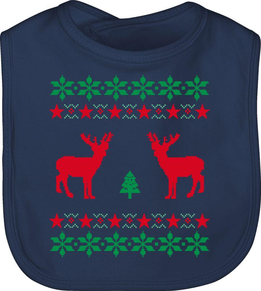 Norweger Pixel Rentier Weihnachten