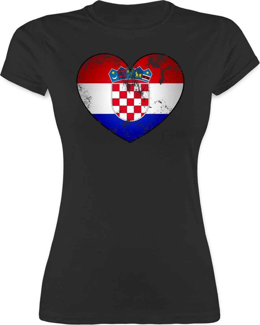 Kroatien Vintage Herz