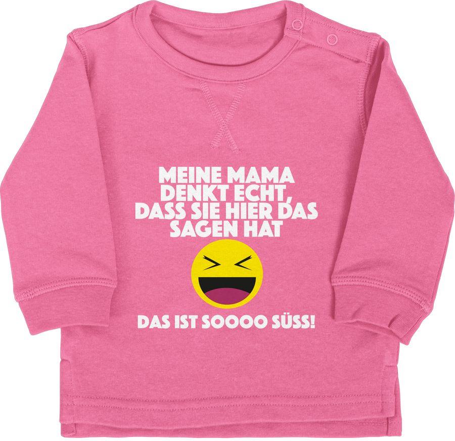 Emoticon - Meine Mama denkt echt, dass sie hier das sagen hat. Das ist soooo süß!